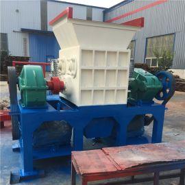 厂家直销木材双轴撕碎机 油漆桶轮胎奶粉罐破碎机 600型双轴撕碎机