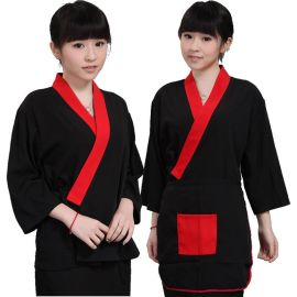 酒店服裝日本廚師服壽司服韓國料理店服務員工作服 日式料理和服