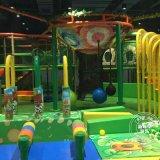 球池智勇大闖關 森林系列淘氣堡室內蹦牀樂園設備 兒童遊樂場廠家