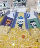 萬達吾悅廣場中庭遊樂設備 海底小縱隊百萬海洋球