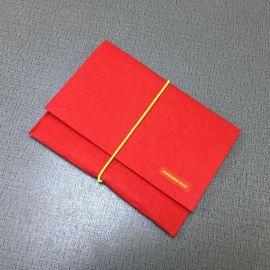 男女式韩国手工卡包证件包文件手机收纳包时尚超薄毛毡包卡袋套