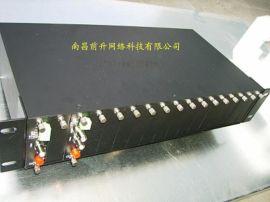 厂家直销前升QSH 4 路光端机 光纤内