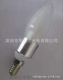 LED蜡烛灯E14调光蜡烛灯5W超高亮节能灯室内照明楼道灯360度发光