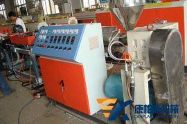 SJ45/65 12-110 PE、PVC单壁波纹管生产线