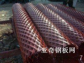 宿州喷塑钢板网,安徽圈山钢板网冲压隔断围栏,桥面钢板网架