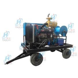 柴油驱动800mm管道疏通清洗机 工业高压冷水清洗机