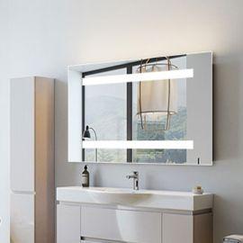 波浪花边欧式**浴室镜卫生间镜子带置物层架洗手间卫浴镜挂式