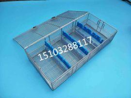 宫腔镜消毒铝盒 不锈钢消毒盒 器械消毒盒厂家供应