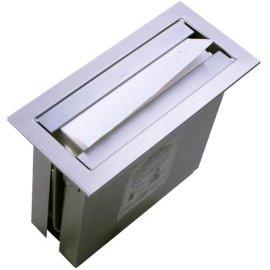 不锈钢台面嵌入式抽纸盒