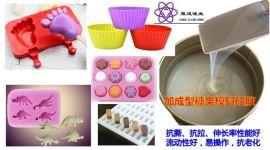糖果冰淇淋巧克力模具用液体AB硅胶