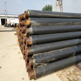 梅州 鑫龙日升 硬质聚氨酯塑料预制管 黑夹克保温钢管
