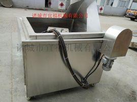 电加热油水混合油炸机价格