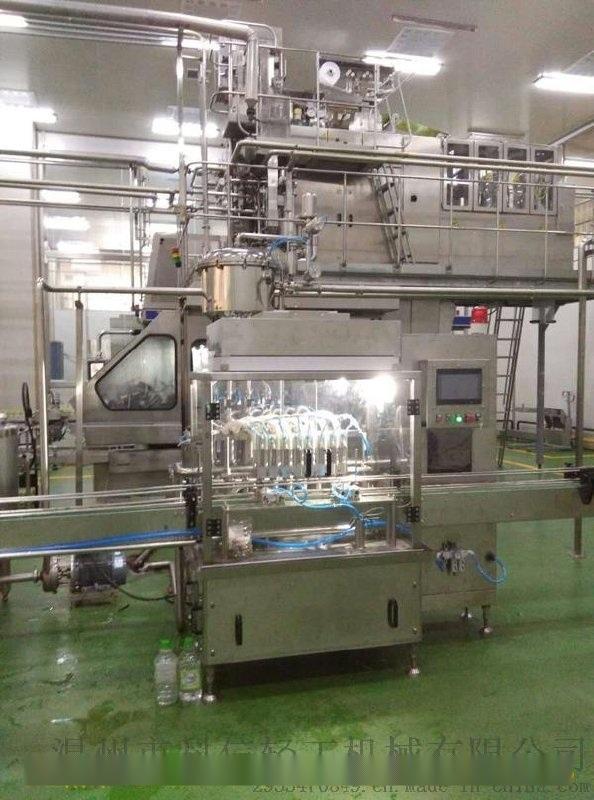 玻璃瓶牛奶生产线 小型牛奶加工设备(5000型)牛奶无菌灌装机