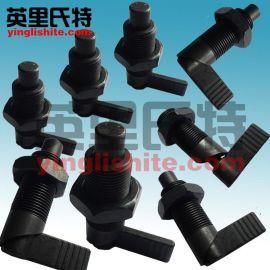 英里氏特分度销粗牙螺纹612-5-M12-碳钢/不锈钢/M16/M20 把手式