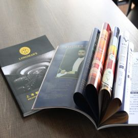 厂家定制印刷企业产品宣传册  产品目录样本说明书 活动宣传册