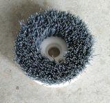 优惠供应各种规格pvc园盘刷,发动机机体除毛刺磨料丝圆盘刷