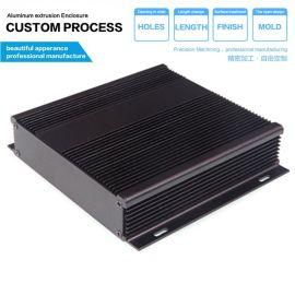 143*31-130电力仪表设备铝外壳/PCB电路板铝型材壳体/DIY工业铝盒