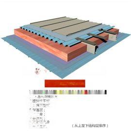 莱茵辛克钛锌板系统 钛锌合金直立锁边板