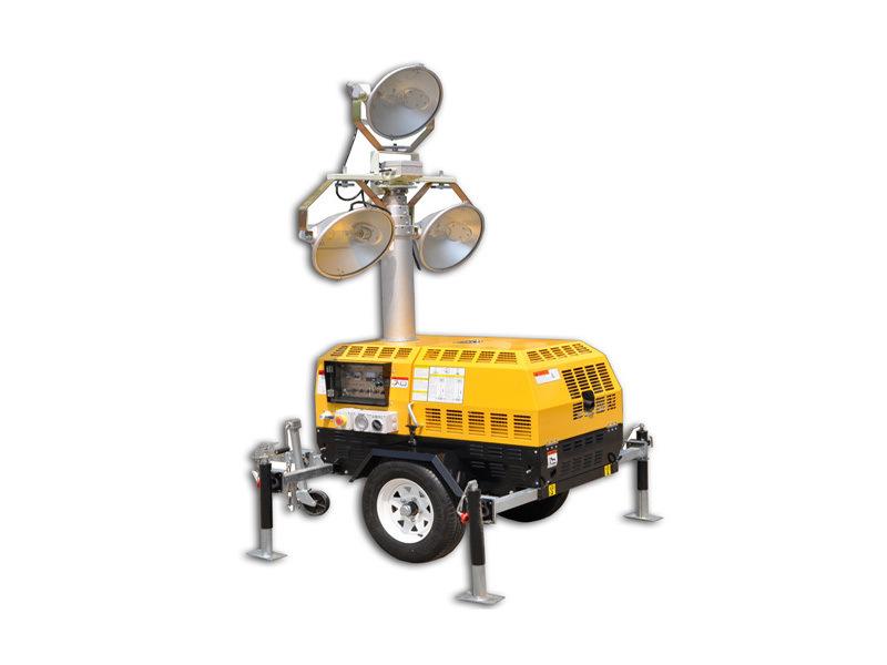 1000W*3金滷燈RWZM51C路得威移動照明車