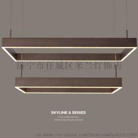 新特丽 led吊灯 餐吊灯餐厅吊线灯 现代简约灯饰
