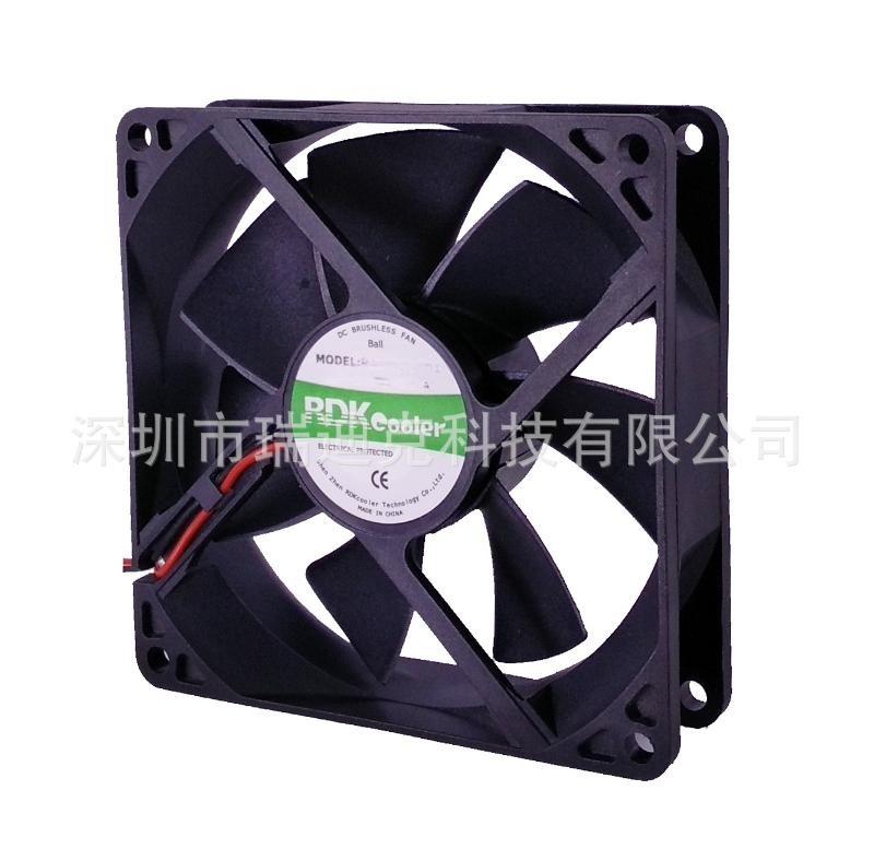 工厂直供8025风扇灭蚊灯直流散热风扇5V12V24V转速2000-4000转