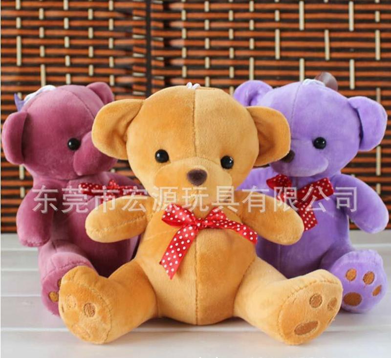 来图开发设计穿衣小熊 定做带波珠链的小熊仔挂件 可来样生产