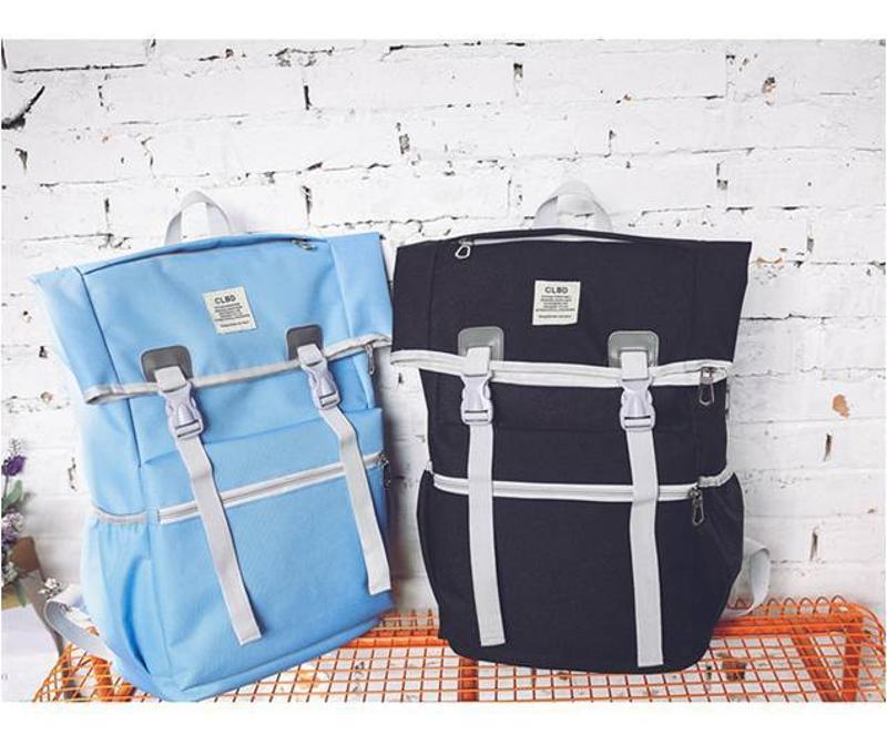 上海箱包定制供应时尚前卫男女通用双肩书包 双肩包 可添加logo