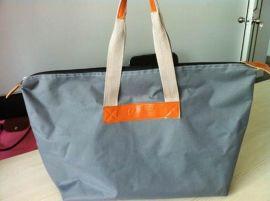 上海箱包定制簡約牛津布手提袋 可折疊手提包 女包 可添加logo