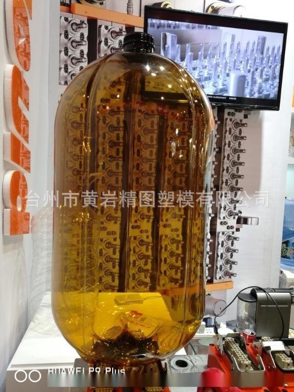 全自动吹瓶机一出二5L10L PET 一次性水桶