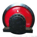 700*180卡轨车轮组φ250-500电机驱动轮
