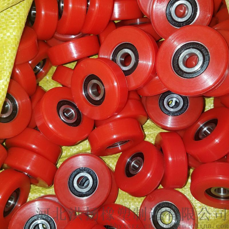 聚氨酯滚轮 聚氨酯轴承包胶轮