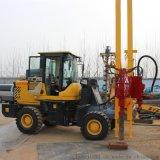 履帶式光伏打樁機山東濟寧鑽機專業製造商