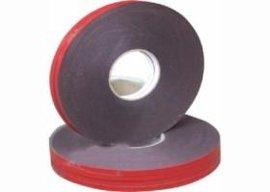 供应强粘力红膜黑PE泡棉双面胶