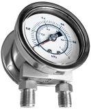 全不鏽鋼雙針管單/雙面版壓力錶   MDB-DPDB-SUS