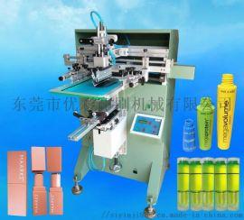 PET塑料瓶丝印机PP塑胶瓶滚印机玻璃瓶丝网印刷机