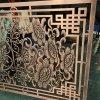鋁雕屏風 10MM浮雕鏤空屏風隔斷