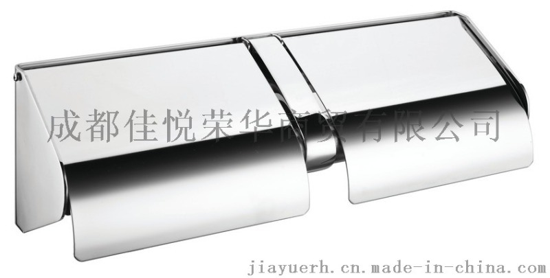 不鏽鋼雙捲紙盒30  悅鑫jyx-x211