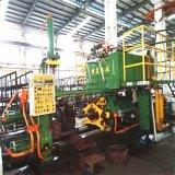 倒闭厂转让多台二手630T型卧式铝合金方管挤压机