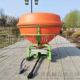 志成拖拉机后置撒肥机化肥撒播机
