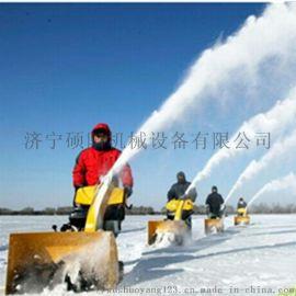 厂家生产道路清雪机 手推式除雪机 家庭用小型抛雪机
