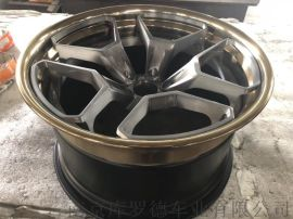 改裝鍛造鋁合金三片式跑車輪轂1139