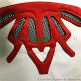 eva海綿冷熱壓頭盔內襯 eva異型加工定型
