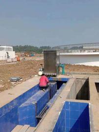 绥化市北郊污水处理工程明渠式紫外线消毒模块