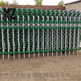 园林圈围锌钢护栏,锌钢护栏工艺,围墙护栏种类