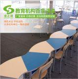 佛山廠家直銷扇形拼接圓桌,組合培訓桌,會議桌