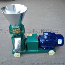 饲料颗粒机 秸秆加工造粒机 挤压成型饲料机