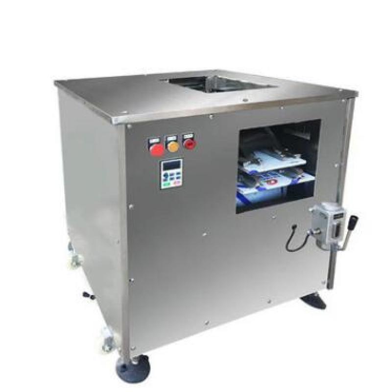 鱼肉切片机价格 全自动鱼肉切片机 全自动斜切鱼片机 多功能切鱼片机