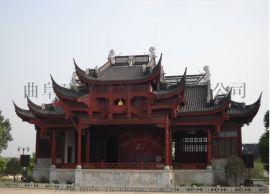 仿古钢结构工程专业设计 制造 安装-钢结构仿古建筑