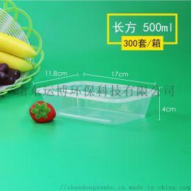 500 方一次性塑料餐盒