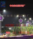孔雀路灯杆装饰灯/动物造型灯图案灯/路灯杆挂件灯
